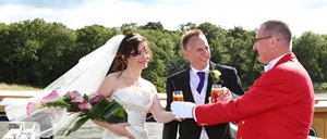 Lee & Pinar August 2014 @ The Boathouse